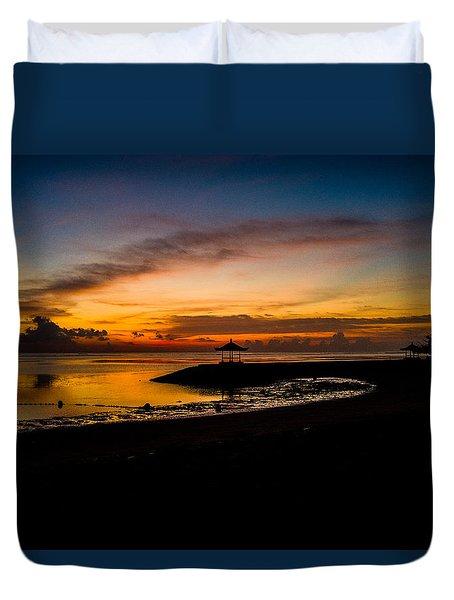 Bali Sunrise I Duvet Cover