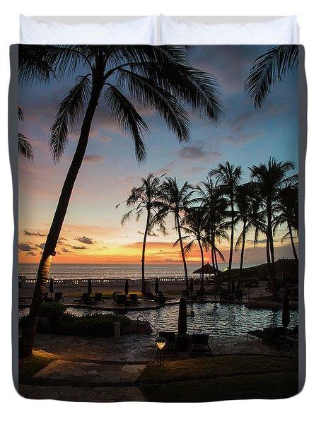 Bali Sunset Duvet Cover