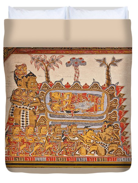 Bali_d530 Duvet Cover by Craig Lovell
