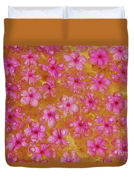 Balinese Flowers Duvet Cover