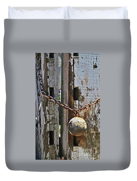 Ball And Chain Duvet Cover