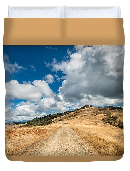Ball Hills In Summer 3 Duvet Cover