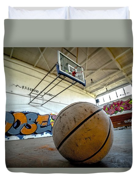 Ball Is Life Duvet Cover