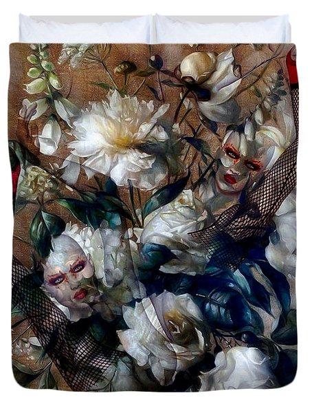 Ballerina Bouquet Duvet Cover by G Berry