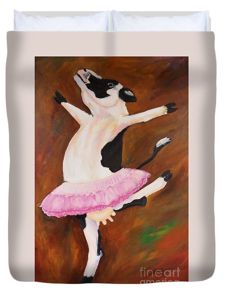 Ballerina Cow Duvet Cover