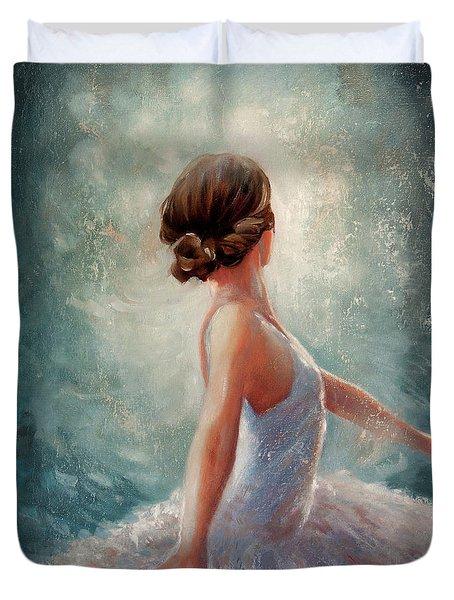 Ballerina Dazzle Duvet Cover