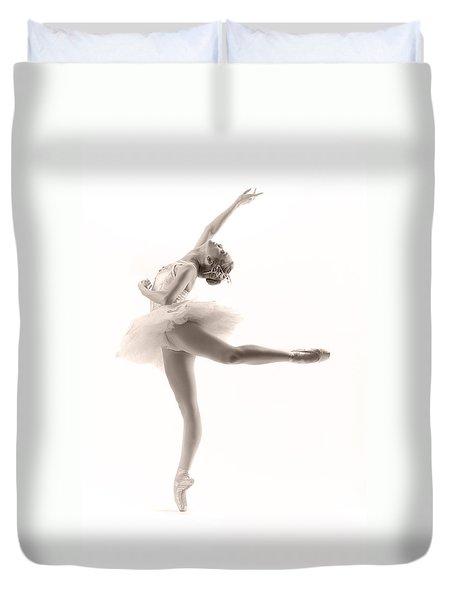 Ballerina Duvet Cover by Steve Williams