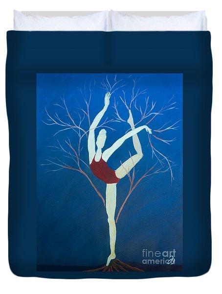 Ballerina Tree Duvet Cover