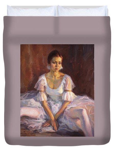 Ballerina's Daydream Duvet Cover
