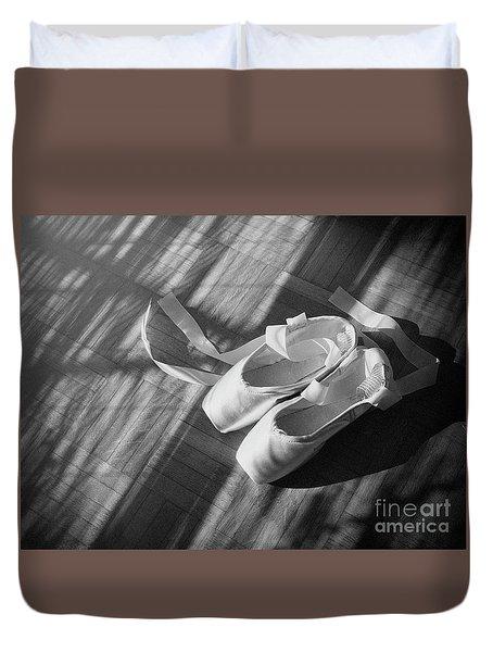 Ballet Dance Shoes Duvet Cover
