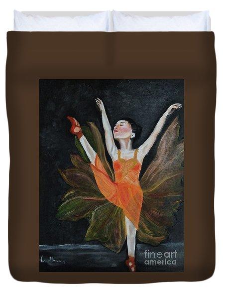 Ballet Dancer 1 Duvet Cover