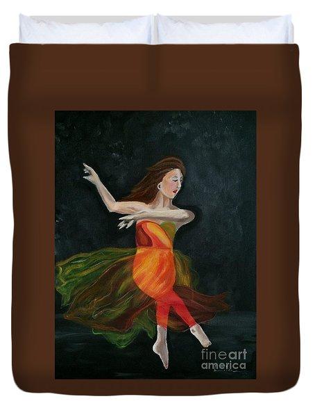 Ballet Dancer 2 Duvet Cover