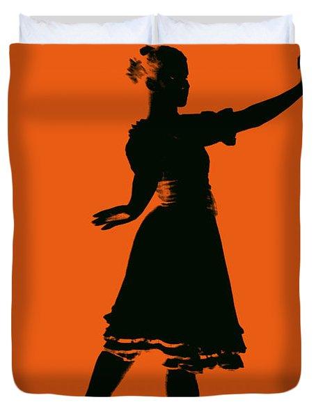 Ballet Girl Duvet Cover