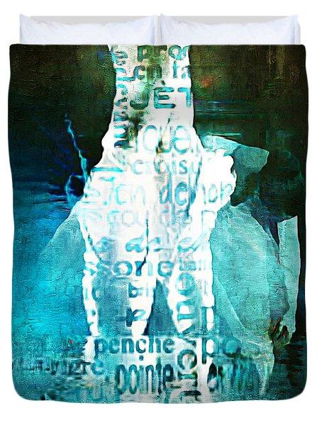 Ballet Duvet Cover by Lynda Payton