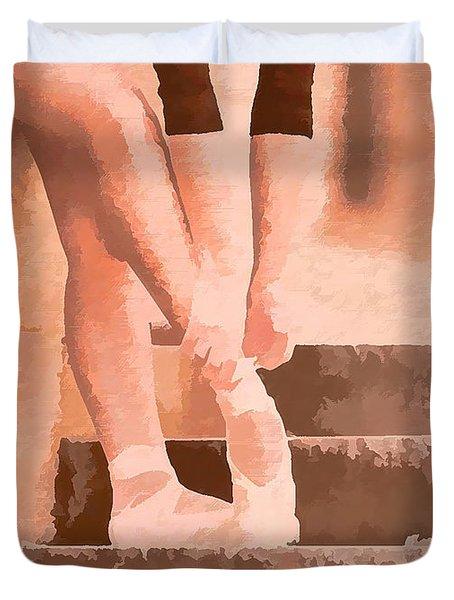 Ballet Shoes Duvet Cover