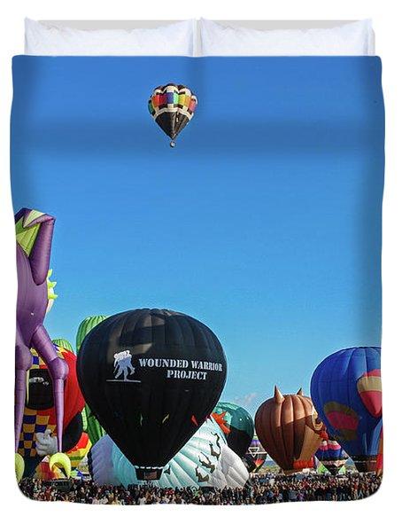 Balloon Fiesta Albuquerque I Duvet Cover