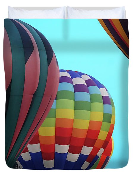 Balloon Glow I Duvet Cover