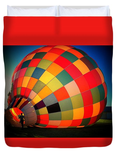 Balloon Duvet Cover by Joyce Kimble Smith