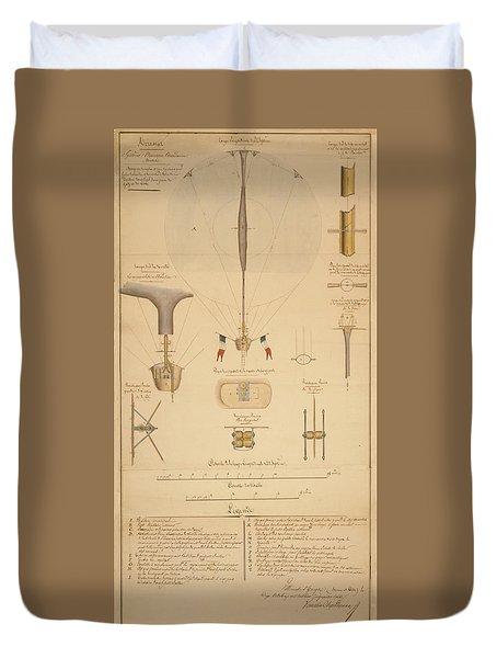 Balloon Patent Duvet Cover