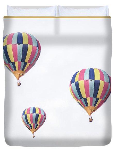Ballooning Duvet Cover