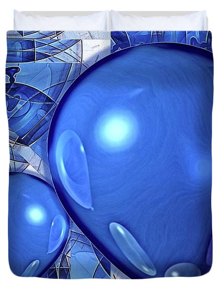 Balloons Duvet Cover by Ron Bissett