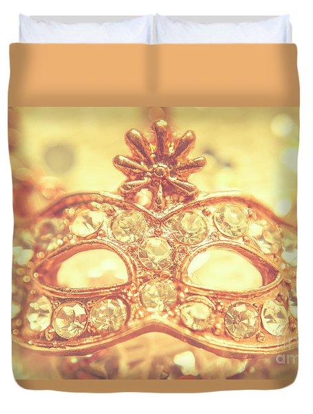 Ballroom Glitter Duvet Cover by Jorgo Photography - Wall Art Gallery