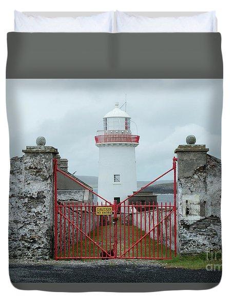 Ballyglass Lighthouse Duvet Cover