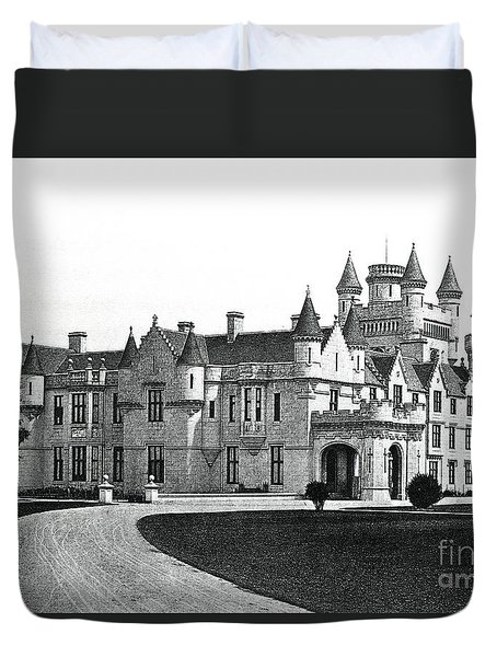 Balmoral Castle  Duvet Cover by English School