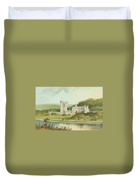 Balmoral Castle, Scotland Duvet Cover
