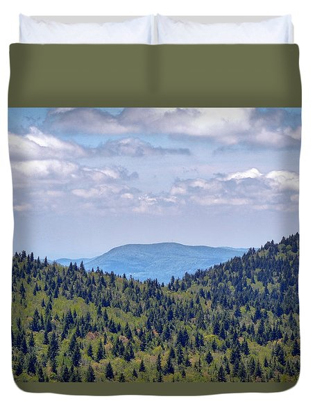 Balsam View Duvet Cover