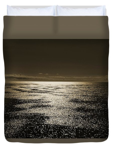 Baltic Sea. Duvet Cover