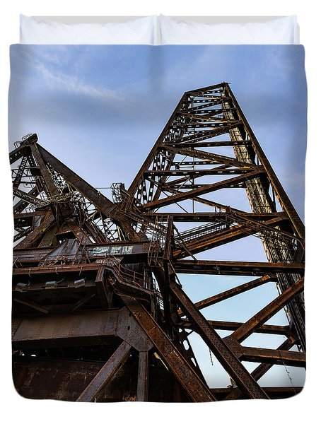 Duvet Cover featuring the photograph Baltimore And Ohio Railroad Bridge #463 by Dale Kincaid