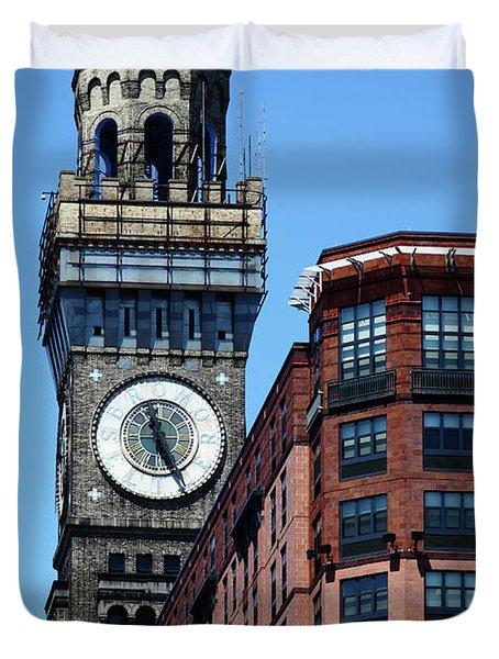 Baltimore Bromo Seltzer Tower Duvet Cover