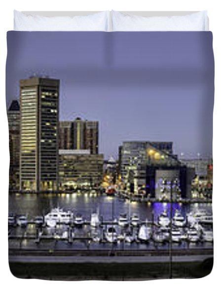 Baltimore Inner Duvet Cover by Eduard Moldoveanu