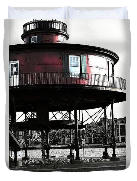 Baltimore Lighthouse Duvet Cover