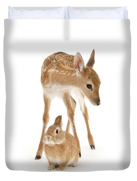 Bambi And Thumper Duvet Cover