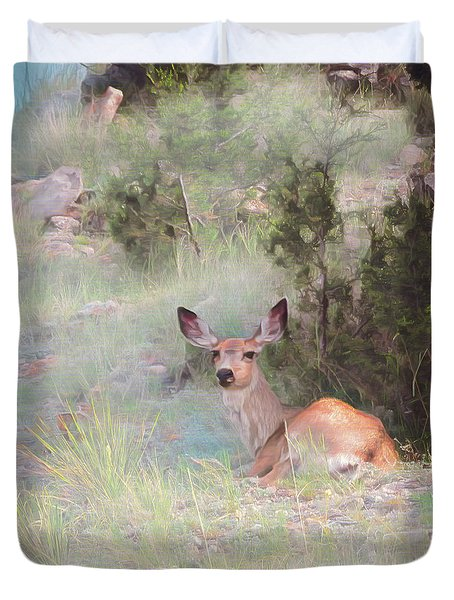 Bambi - The Early Years Duvet Cover