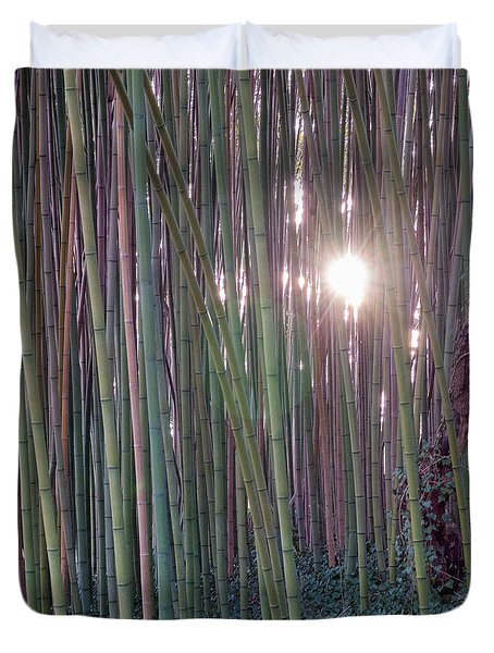 Bamboo And Ivy Duvet Cover