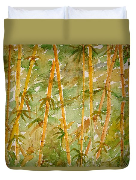Bamboo Jungle Duvet Cover
