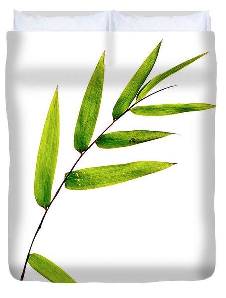 Bamboo Leaves Duvet Cover