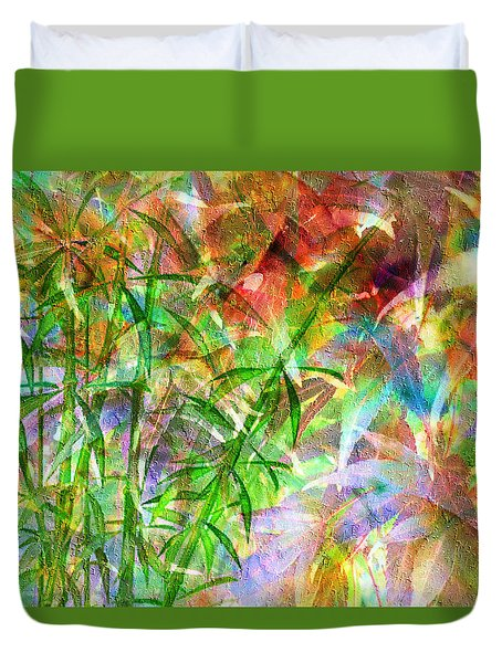 Bamboo Paradise Duvet Cover