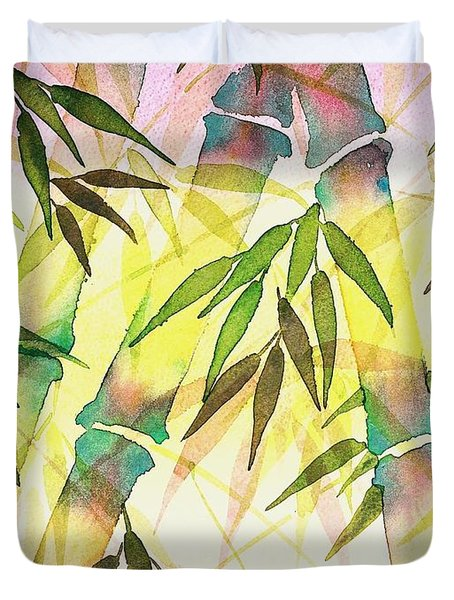 Bamboo Sunrise Duvet Cover