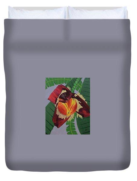 Banana Blossom Duvet Cover