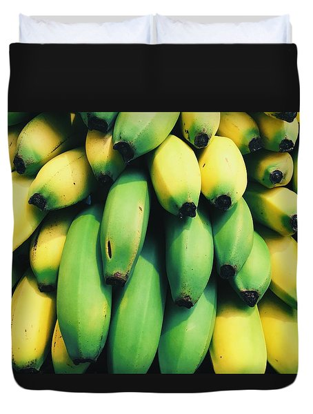 Bananas Duvet Cover by Happy Home Artistry
