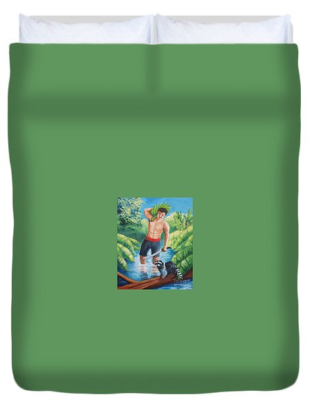 Bananas Harvest Duvet Cover