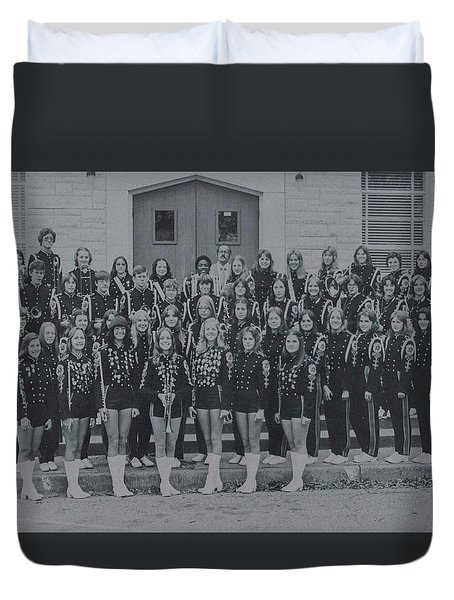 Band After Fire 76 Duvet Cover