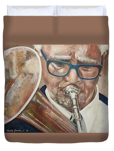 Band Man Duvet Cover
