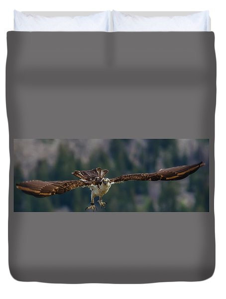 Banded But Bold Duvet Cover by Yeates Photography