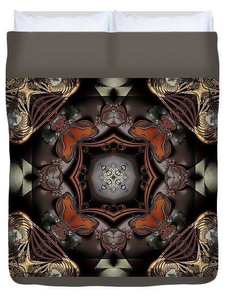 Banded Together Duvet Cover