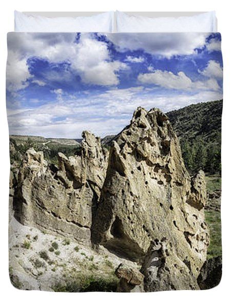 Bandelier National Monument  Duvet Cover